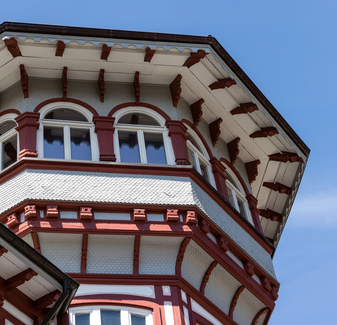 Detail Fachwerkhaus
